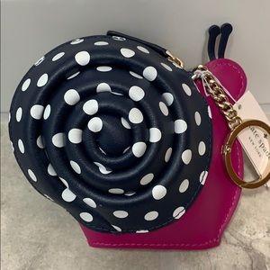 kate spade snail coin purse